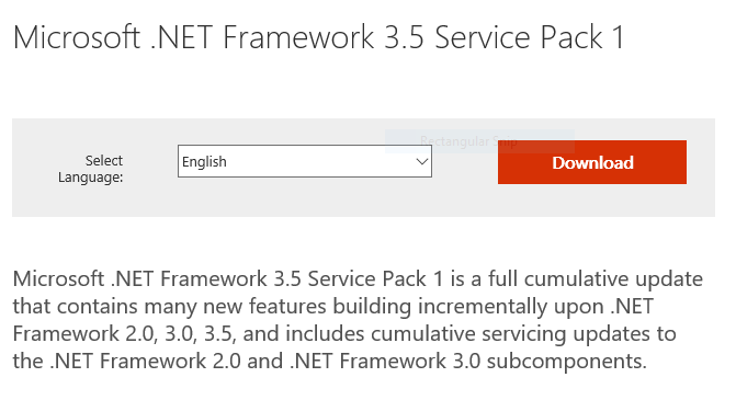 NET Framework 3.5 Download - How to Install .NET Framework 3.5 on Windows