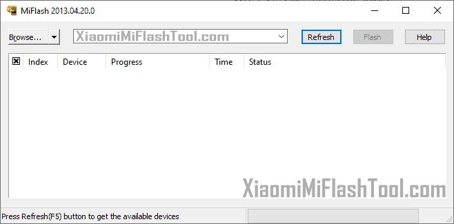 Xiaomi Mi Flash Tool 20130420 - Xiaomi Flash Tool 20130420
