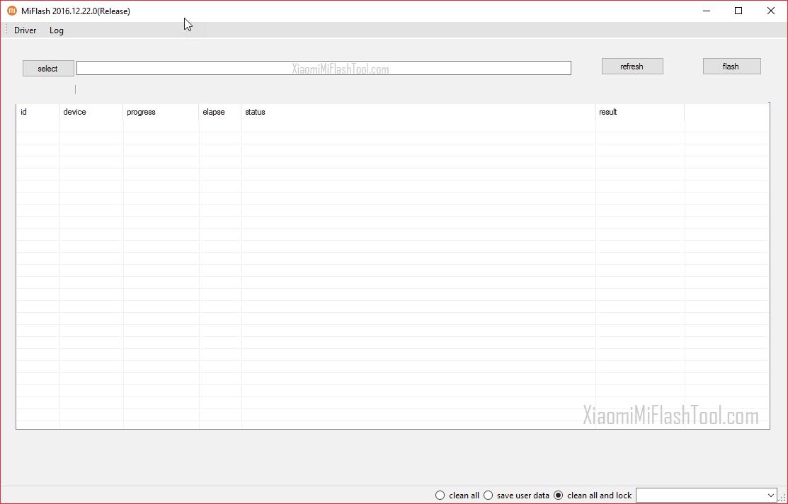 Xiaomi Mi Flash Tool 20161222 - Xiaomi Mi Flash Tool 20161222